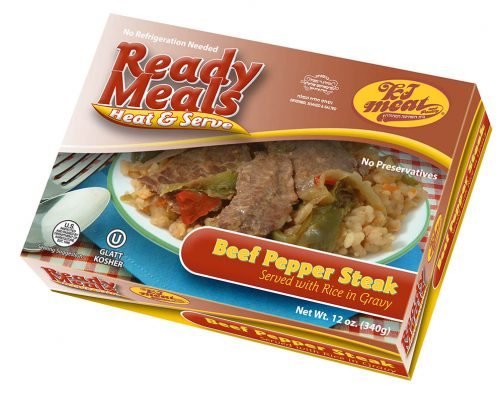 Beef Pepper Steak (485)