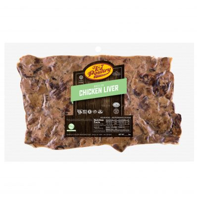 KJ Poultry Kosher Broiled Chicken Liver (10253)