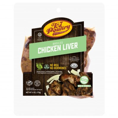 KJ Poultry Kosher Broiled Chicken Liver (11253)