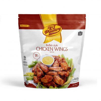 KJ Poultry Kosher Buffalo Chicken Wings - Mild (451)