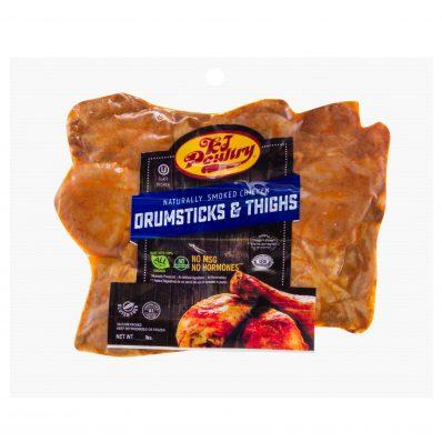 KJ Poultry Kosher Chicken Drumsticks And Thighs (11408)