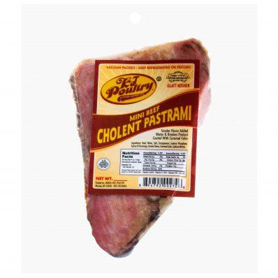 KJ Poultry Kosher Chulnent Pastrami (401)