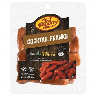 KJ Poultry Kosher Cocktail Franks (11412)