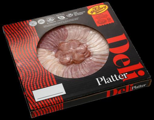 KJ Poultry Kosher Deli Platter (11700)