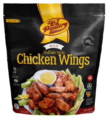 KJ Poultry Kosher Mild Buffalo Style Wings (91451)