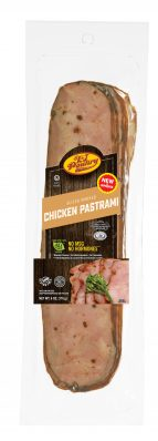 KJ Poultry Kosher Smoked Chicken PastramI (11425)