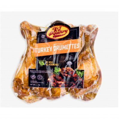 KJ Poultry Kosher Smoked Turkey Drummetes (11404)