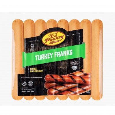 KJ Poultry Kosher Turkey Franks (11413)