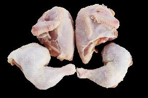 Whole Chicken Cut in 4