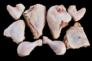 Whole Chicken Cut in 8